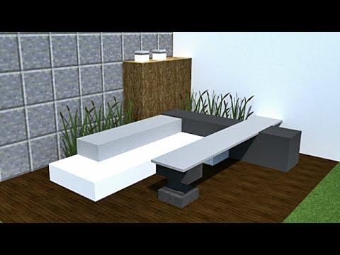Minecraft Tutoriel De Decoration Interieur Et Exterieur 3 Youtube