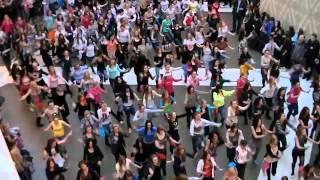 Флэшмоб TODES СПб ТРЦ 'Галерея'; Dance Flashmob TODES