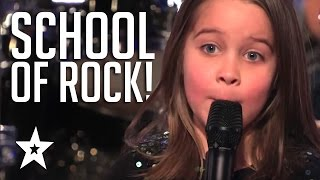 6 Rock Kids Got Talent! Kid Auditions From Asia, Australia & America's Got Talent