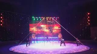 Event entertainment circus pole act