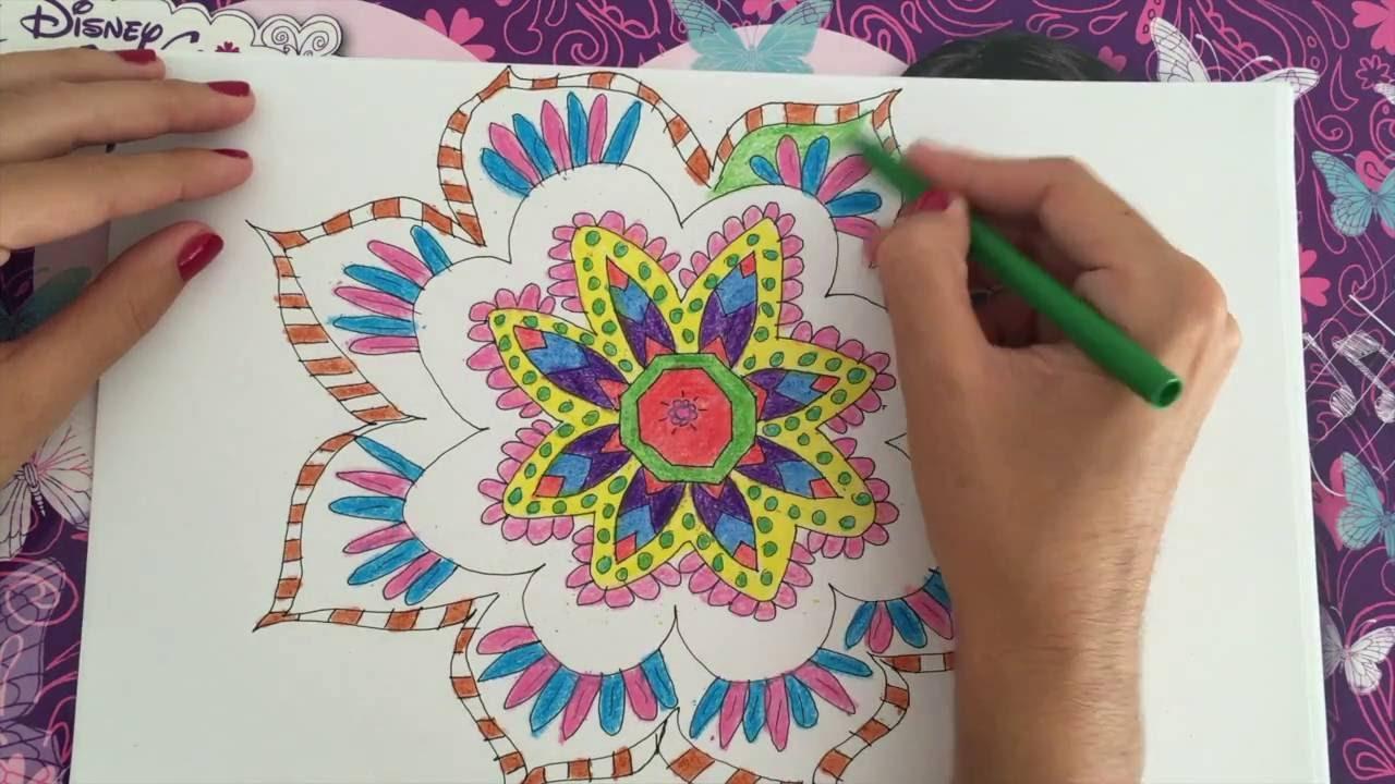 Dibujo Mandala Fácil Para Niños Y Niñas