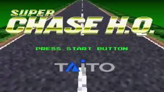Super Chase HQ SNES | 1cc Playthrough
