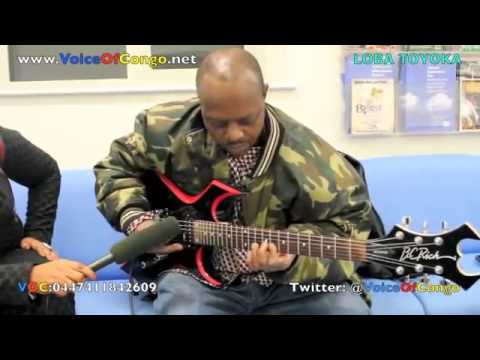 Soukous Guitar from Congo - Burkina Faso Mboka Liya - at voice of congo dot net