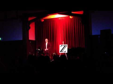 Paul Kelly solo, 'Beside still waters' (?)' Live in San Fan, March 2012