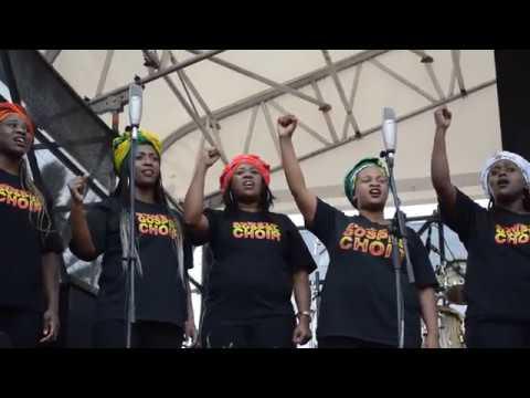 Thandiswa Mazwai's Tribute to Mam Winnie Mandela with Soweto Gospel Choir (LIVE)