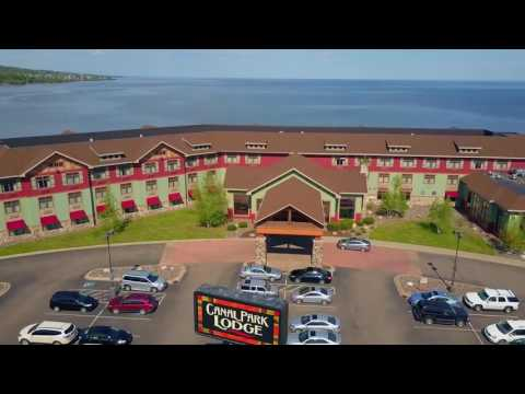 Canal Park Lodge Hotel Video - Duluth MN