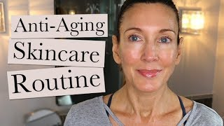 My Anti-Aging Skincare Routine - Winter 2019 | Over 50