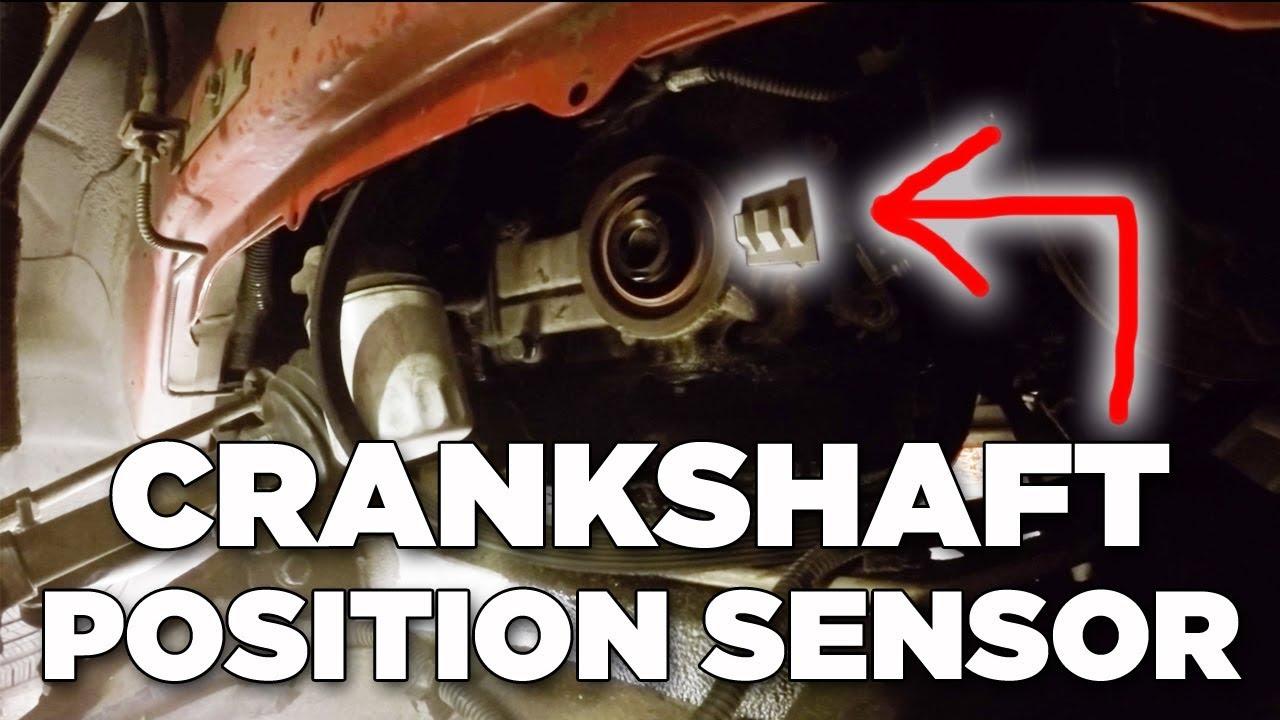 how to install crankshaft position sensor 3 8l monte carlo ss [ 1280 x 720 Pixel ]