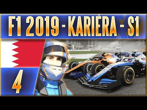F1 2019 Kariéra | #4 | Bitva S Ex-kolegou Weberem | CZ Let's Play (BAH)