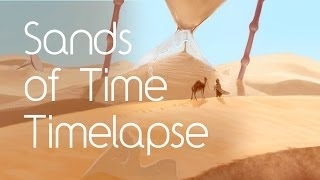 Sands Of Time Album Cover (Timelapse Illustration)