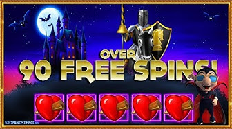 😲 OVER 90 Free Spins !!! + FIVE Hearts on Ooh Ah Dracula! 🧛
