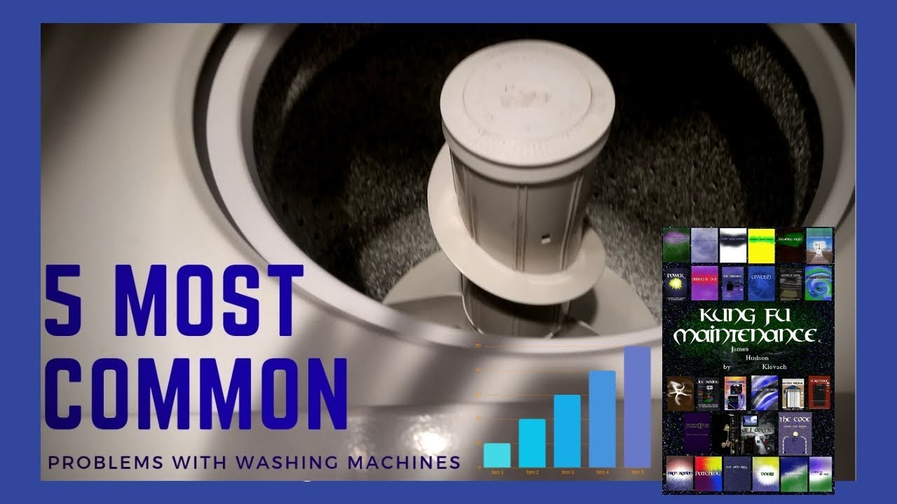 Five most common problems with washing machines doovi - Common washing machine problems ...