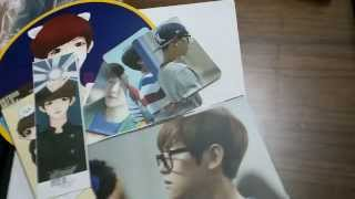 exo polar light baby lion photobook unboxing