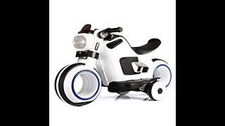 Huge Surprise Toy: Motorcycle Sport Bike Power Wheel Ride-on Test Drive (Tron Bike)