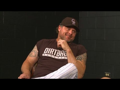 Spill the Beans with Ryan Spilborghs - Jason Giambi