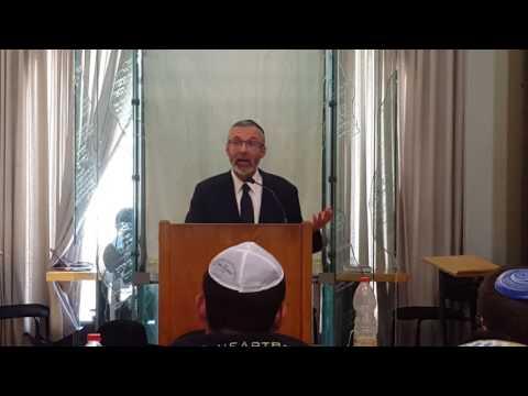Rabbi Leib Keleman speaking at Aish HaTorah pt2
