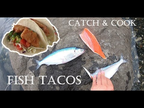 FISH TACOS With Kokanee Trout - Catch And Cook