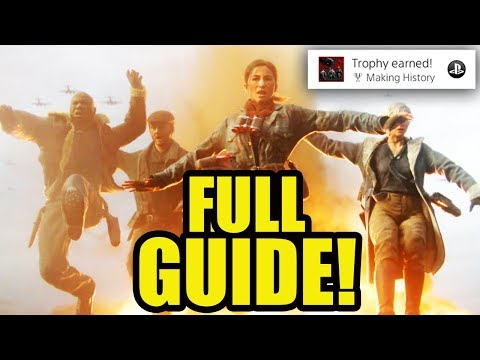"""THE DARKEST SHORE"" EASTER EGG GUIDE! - FULL EASTER EGG TUTORIAL! (Call of Duty WW2 Zombies)"