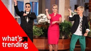 Psy Teaches Britney the Gangnam Dance and Top 5 YouTube Videos for 9/11/2012 강남스타일