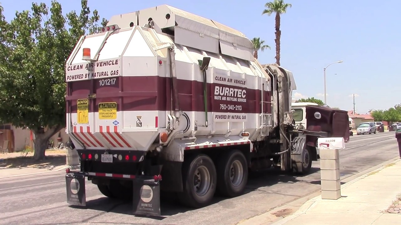 BURRTEC Waste & Recycling Services of Cathedral City, CA - YouTube