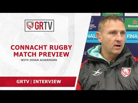 Ackermann ahead of Connacht clash – '….there's a lot of belief in the group…'