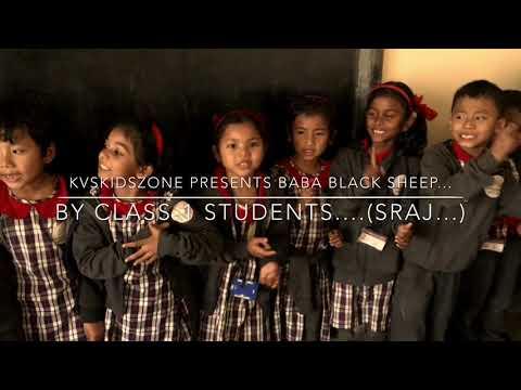 baba black sheep rhyme / English rhyme by class-1 kids/kv kokrajhar