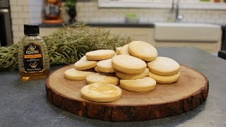 How to make Orange Blossom Honey Shortbread