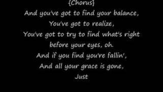 Finger Eleven Song+Lyrics Falling on