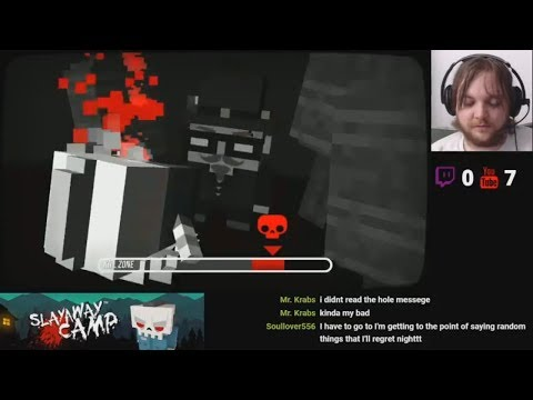 *I WONDER IF THIS WILL DESENSITIZE ME...TO PUZZLES* Slayaway Camp - Part 4 | Mike at Midnight LIVE