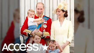 Princess Charlotte & Prince Louis Stole The Show At The Trooping The Colour Event | Access