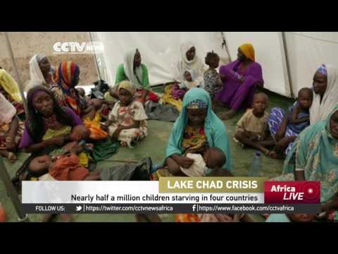 Nearly half a million children starving in four countries