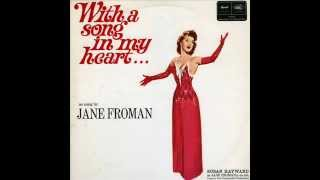 "●{Jane Froman.♥.Susan Hayward}● *•♫♭♪•* ""With A Song In My Heart"" *•♫♭♪•* ""The Jane Froman Story"""