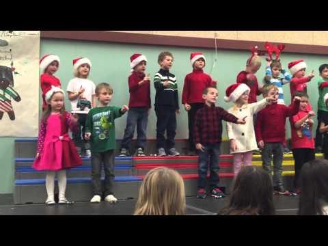 Aspenwood Elementary Christmas Concert 2014 (Jingle Bells)