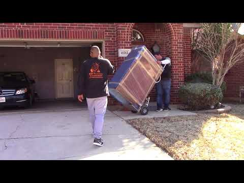 Furniture Movers | Moving A  Chest Of Drewers Upstairs