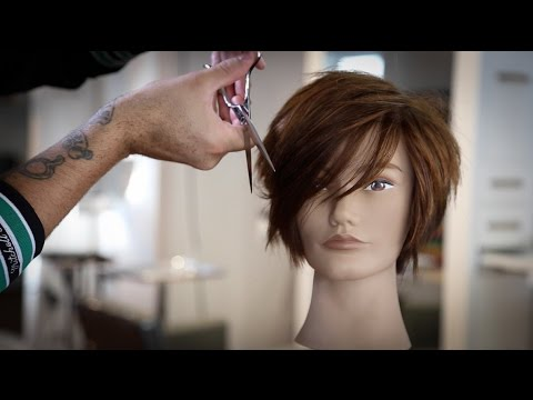 Short Haircut Tutorial and a New Scissor