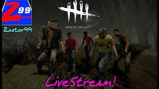 Dead by daylight - solo play come by and chill, say hello!  - livestream!