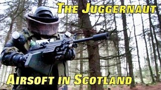 Juggernaut Airsoft War Games in Scotland