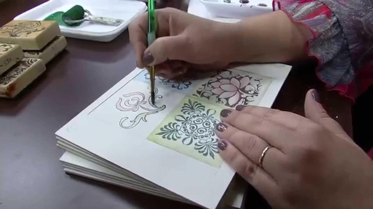 A arte de pintar um quadro com o proacuteprio pau - 5 8