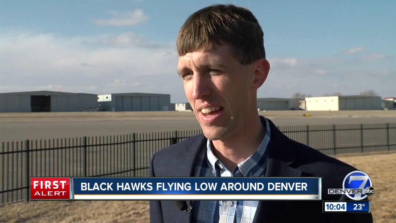 Here's what's up with those low-flying helicopters you keep hearing at  night over the Denver metro