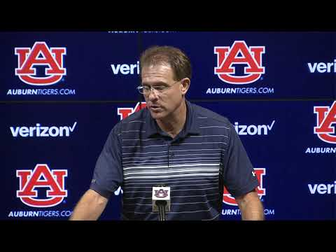 Auburn University Sports - Gus Malzahn Press Conference - September 3, 2019