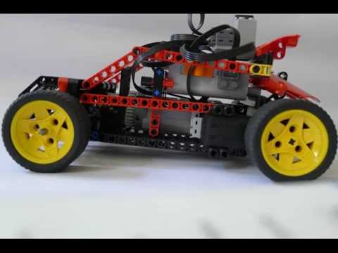 Lego Rc Race Car Very Fast Youtube
