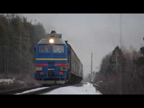 2М62У-0324 с поездом Киров-Луза
