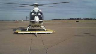 STAT MedEvac N511ME Eurocopter EC-135 Landing AGC