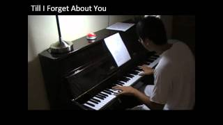 till i forget about you on piano