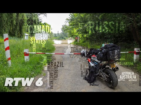 TeapotOne Motorcycle Around The World - Episode 6 Norway to Russia
