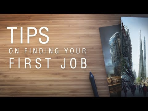 TIPS ON FINDING YOUR FIRST JOB IN ARCHVIZ/ARCHITECTURE