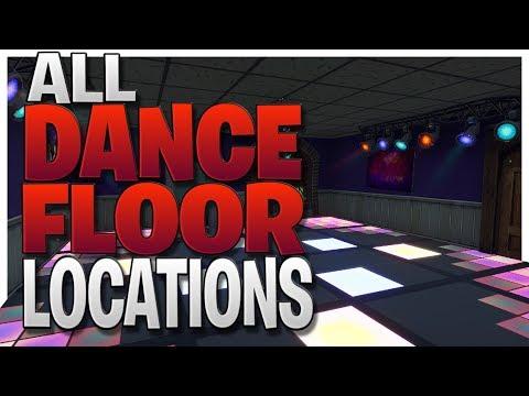 'Dance On Different Dance Floors' - *ALL* 3 Dance Floor Locations In Fortnite Battle Royale