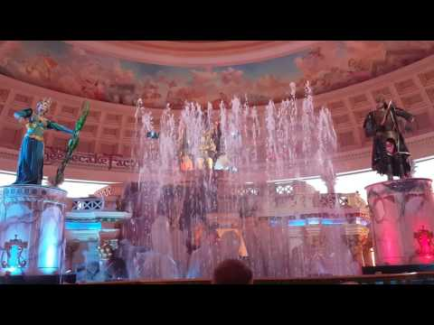 Fall of Atlantis full show in Caesar's Palace Forum Shops