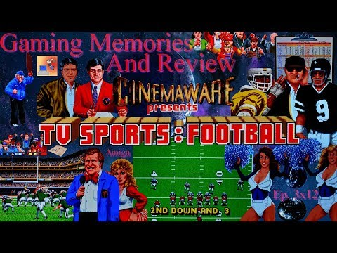 TV Sports Football - Amiga - Gaming Memories And Review