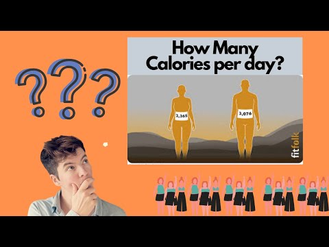 Calories Per Day The Average Calories Per Day Needed for Men